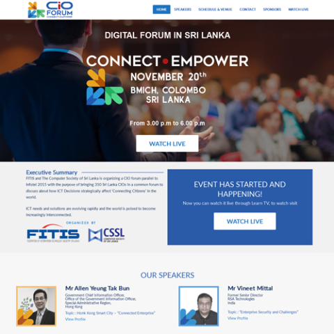 pawara-event-web-design-development-cio-forum-infotel