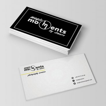 Magic Moments by Amare – Logo & Card Design