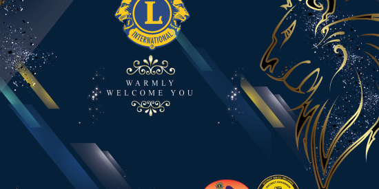 Banner – Lions Club Anniversary Ceremony
