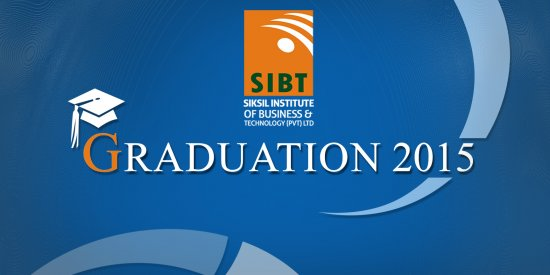Backdrop Design for SIBT Graduation