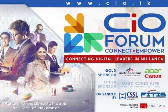 INFOTEL 2015 – CIO FORUM Main Backdrop